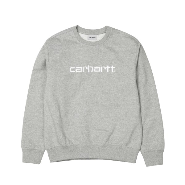 Carhartt Crew Neck Sweatshirt (Grey Heather/Wax)