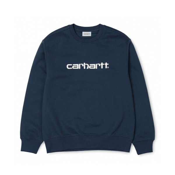 Carhartt Crew Neck Sweatshirt (Navy/Wax)