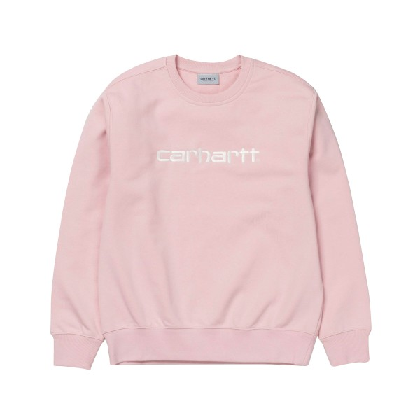 Carhartt Crew Neck Sweatshirt (Sandy Rose/Wax)