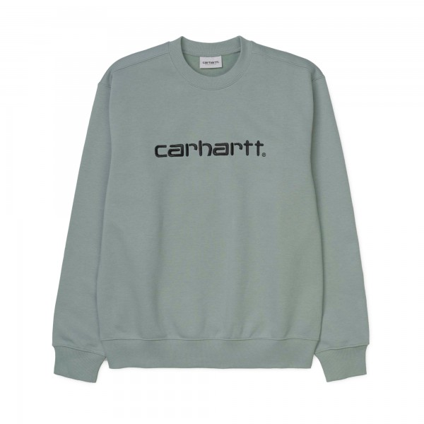 Carhartt Crew Neck Sweatshirt (Cloudy/Black)