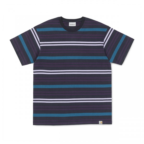 Carhartt Kress T-Shirt (Dark Navy Stripe)