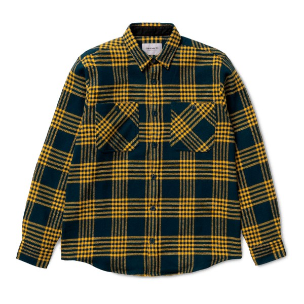 Carhartt Lambie Long Sleeve Shirt (Duck Blue/Colz)