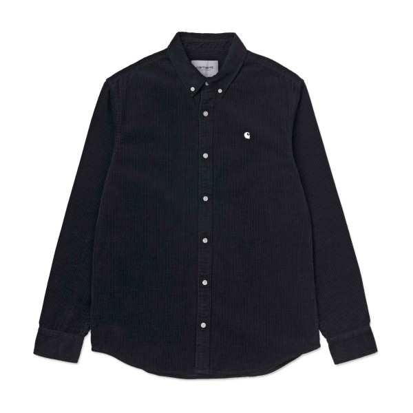 Carhartt Madison Long Sleeve Shirt (Dark Navy/Wax)