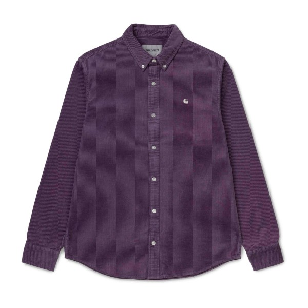Carhartt Madison Long Sleeve Shirt (Dusty Mauve/Cinder)