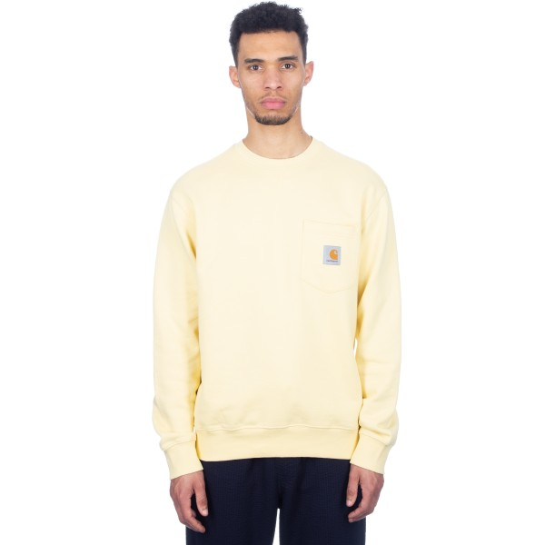 Carhartt Pocket Crew Neck Sweatshirt (Fresco)