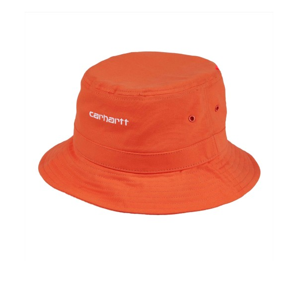 Carhartt Script Bucket Hat (Pepper/White)