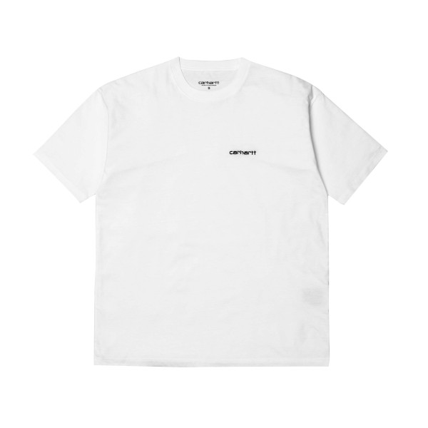 Carhartt Script Embroidery T-Shirt (White/Black)