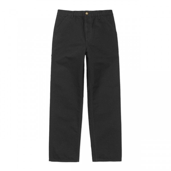 Carhartt Single Knee Pant (Black Rinsed)