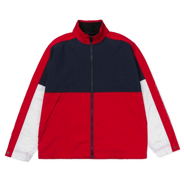 Carhartt Terrace Full Zip Jacket (Dark Navy/Cardinal/White)