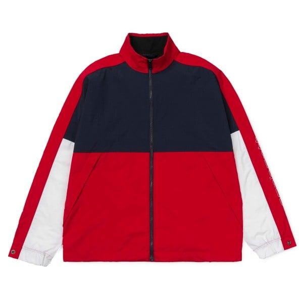 Carhartt Terrace Full Zip Jacket (Dark Navy/Cardinal/White)