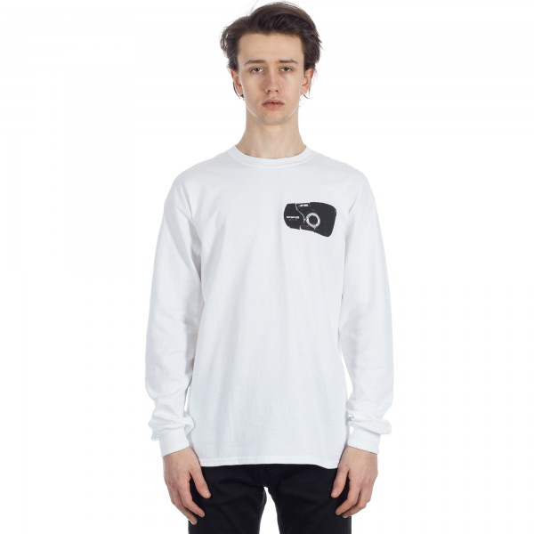 North Camera Long sleeve T-Shirt (White)
