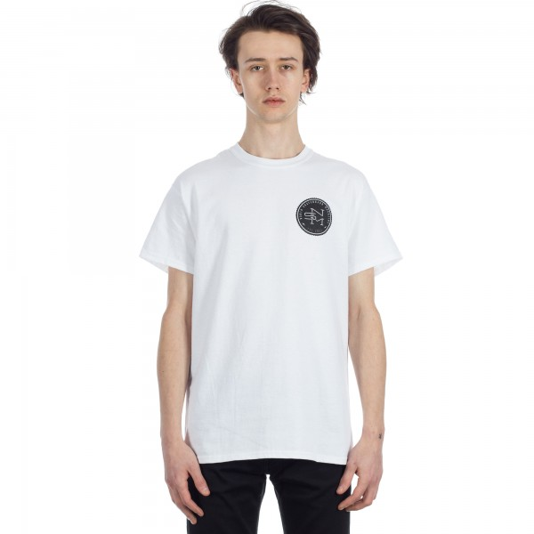 North Logo T-Shirt (White/Black/Grey)