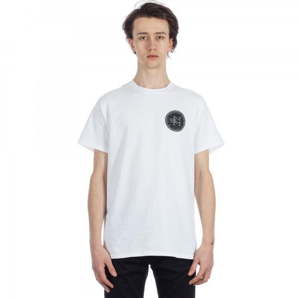 North Logo T-Shirt (White/Black/Grey)