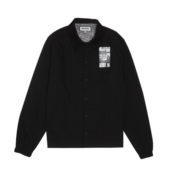 Fucking Awesome C'EST FA Coaches Jacket (Black)