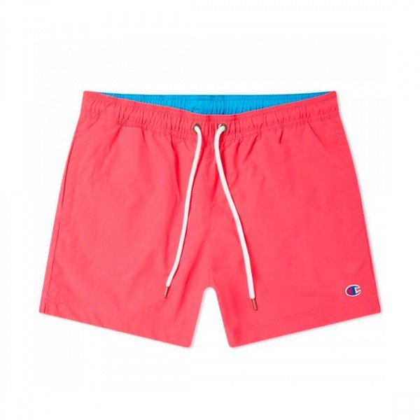 Champion Reverse Weave Beach Short (Hot Pink/Light Blue)