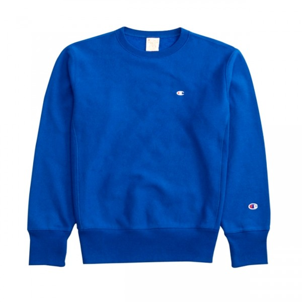 Champion Reverse Weave Crew Neck Sweatshirt (Nautical Blue)