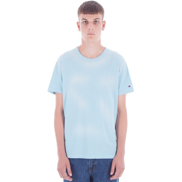 Champion Reverse Weave Crew Neck T-Shirt (Blue)