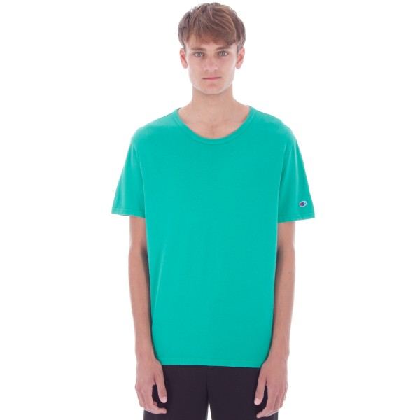 Champion Reverse Weave Crew Neck T-Shirt (Green)