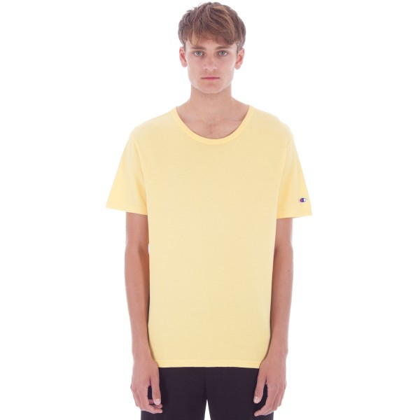Champion Reverse Weave Crew Neck T-Shirt (Snapdragon Yellow)