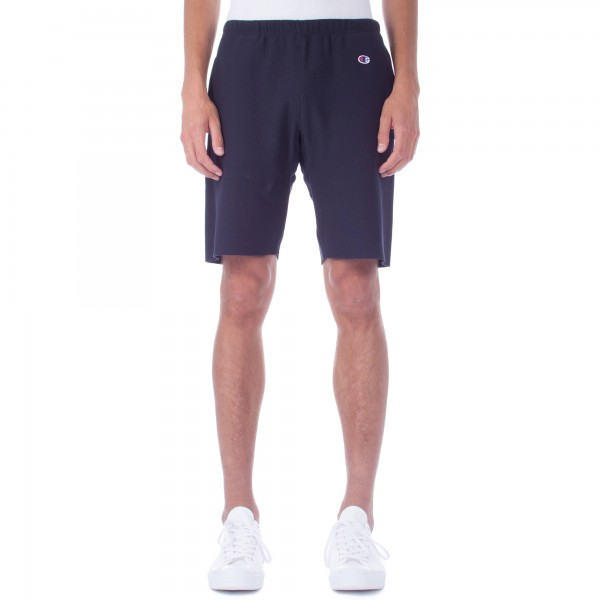 Champion Reverse Weave Cut Off Track Short (Navy)