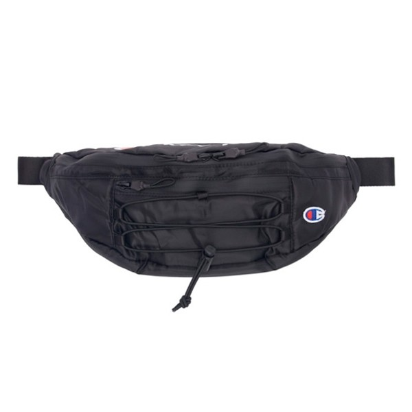Champion Reverse Weave Lace-Up Logo Belt Bag (Black)