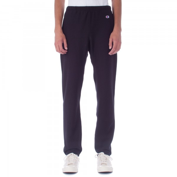 Champion Reverse Weave Plain Track Pant (Black)