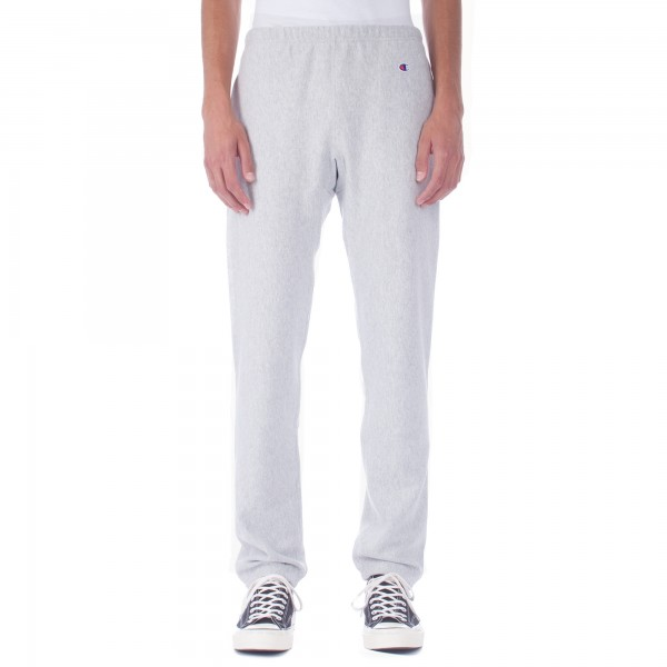 Champion Reverse Weave Plain Track Pant (Heather Grey)