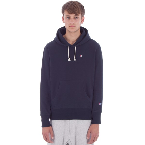 Champion Reverse Weave Pullover Hooded Sweatshirt (New Navy)
