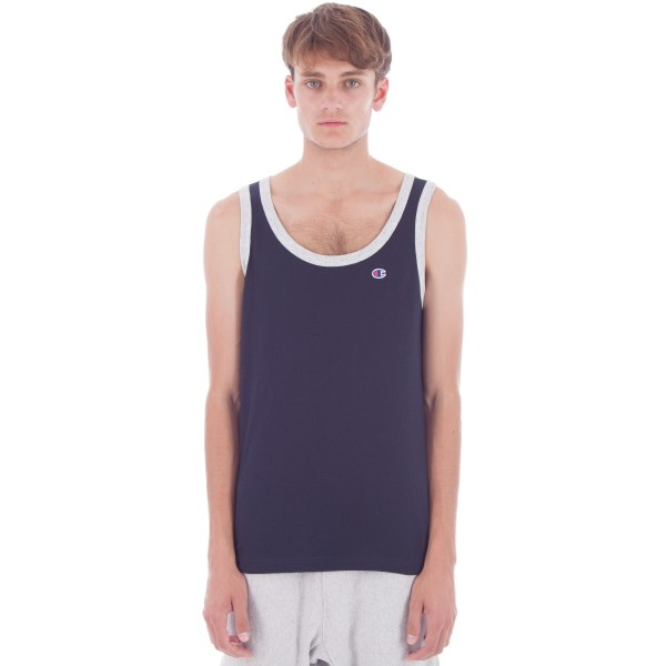 Champion Reverse Weave Tank Top (New Navy)