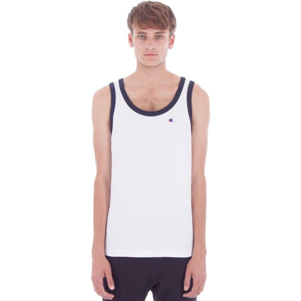 Champion Reverse Weave Tank Top (White)