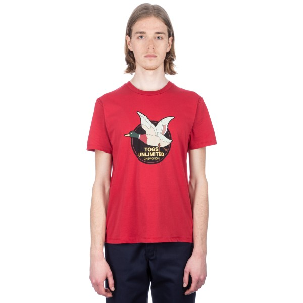 Chevignon Unlimited T-Shirt (Red Chilli)