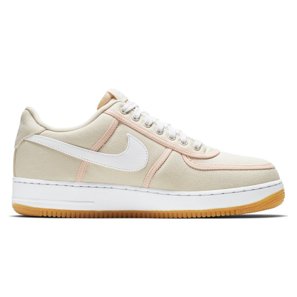 Nike Air Force 1 '07 Premium (Light Cream/White-Crimson Tint)