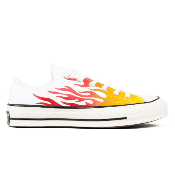 Converse Chuck Taylor All Star 70 Ox 'Flames Archive Print' (White/Enamel Red/Bold Mandarin)
