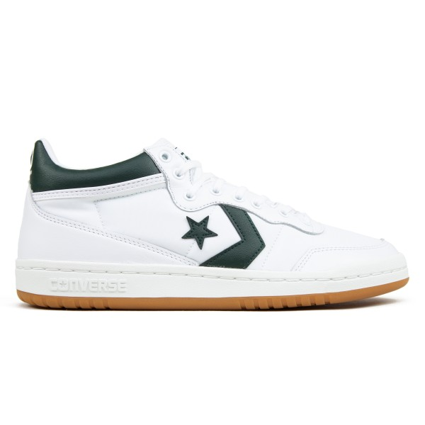 Converse Cons Fastbreak Pro Mid (White/Deep Emerald/Gum)