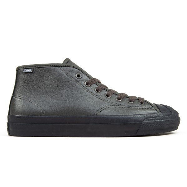 Converse Cons Jack Purcell Pro Leather Mid 'Jake Johnson' (Beluga/Black/Black)