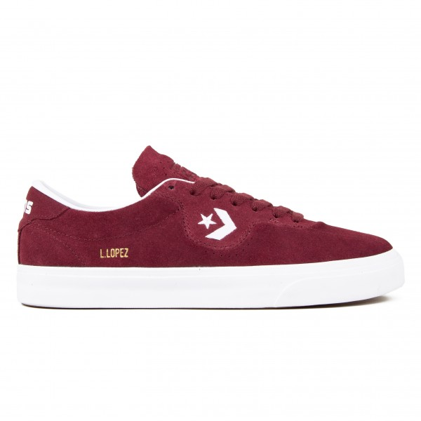 Converse Cons Louie Lopez Pro Ox (Dark Burgundy/White)