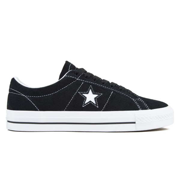 Converse Cons One Star Pro OX (Black/White//White)