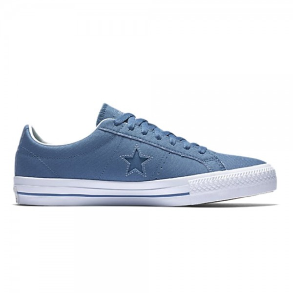 Converse Cons One Star Pro OX (Blue Coast/Blue Granite)