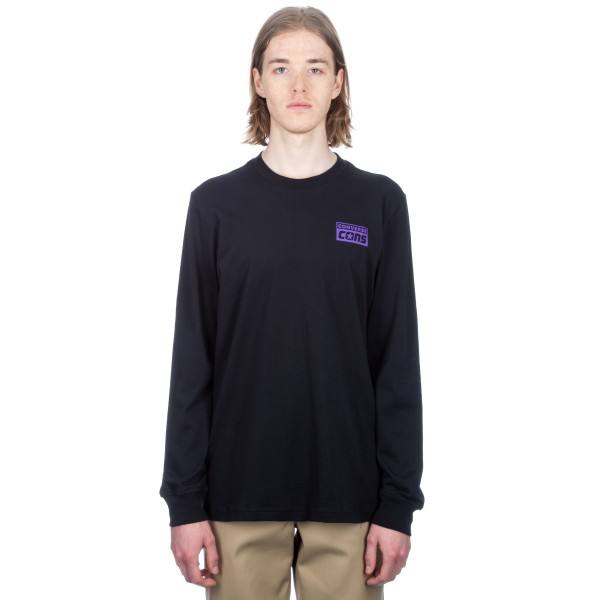 Converse Cons Purple Longsleeve T-shirt (Black)