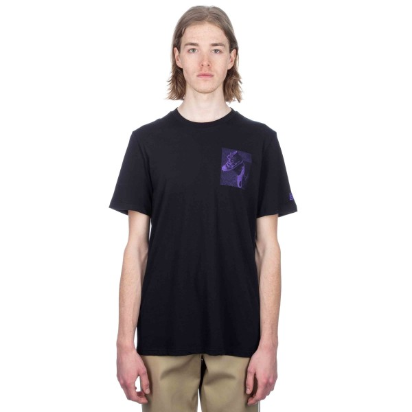 Converse Cons Purple T-Shirt (Black)