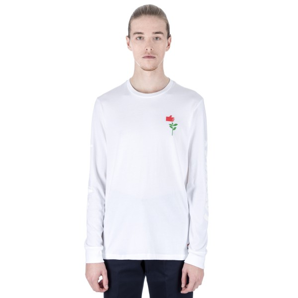 Converse Cons x Chocolate Long Sleeve T-Shirt (White)