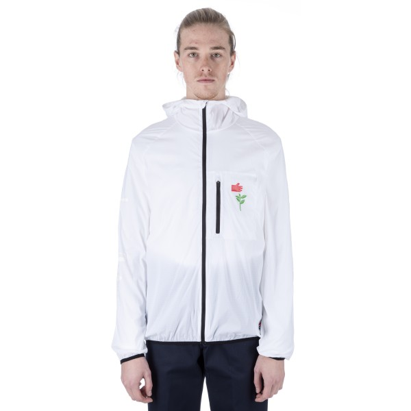 Converse Cons x Chocolate Packable Windbreaker (White)
