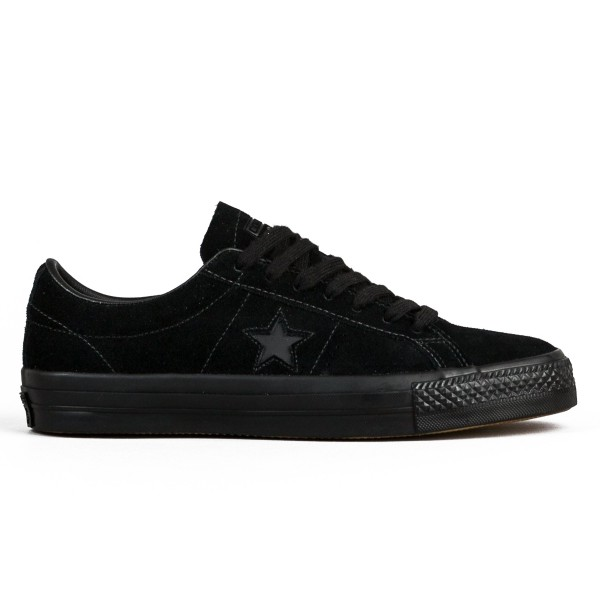 Converse One Star OX (Black/Black/Black)