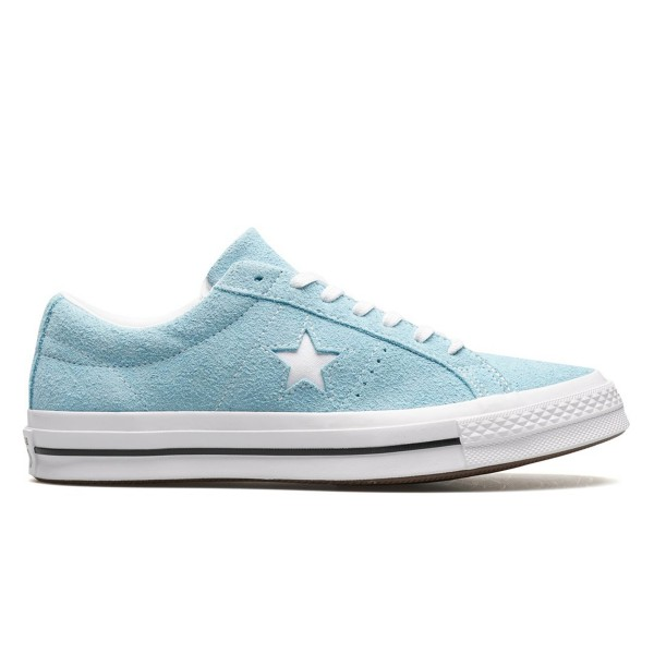 Converse One Star OX (Shoreline Blue/White/White)