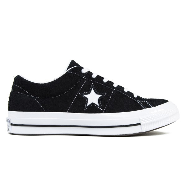 Converse One Star OX (Black/White/White)