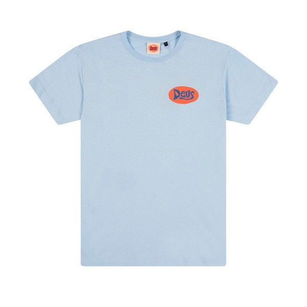 Deus Ex Machina Bay Goofy T-Shirt (Sky Blue)