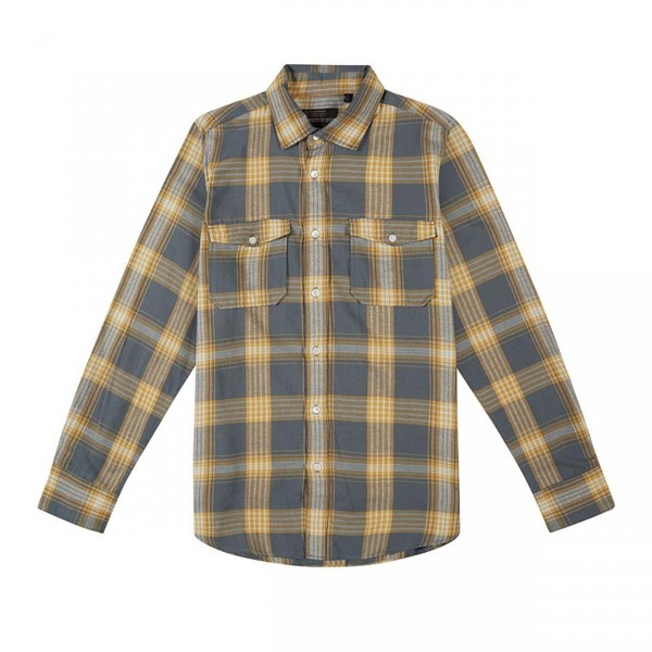 Deus Ex Machina Smart Shirt (Light Blue Plaid)
