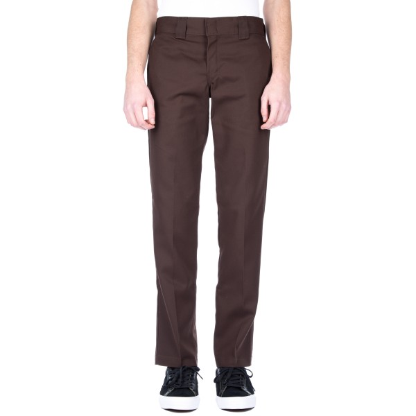 Dickies 873 Slim Straight Work Pant (Chocolate Brown)