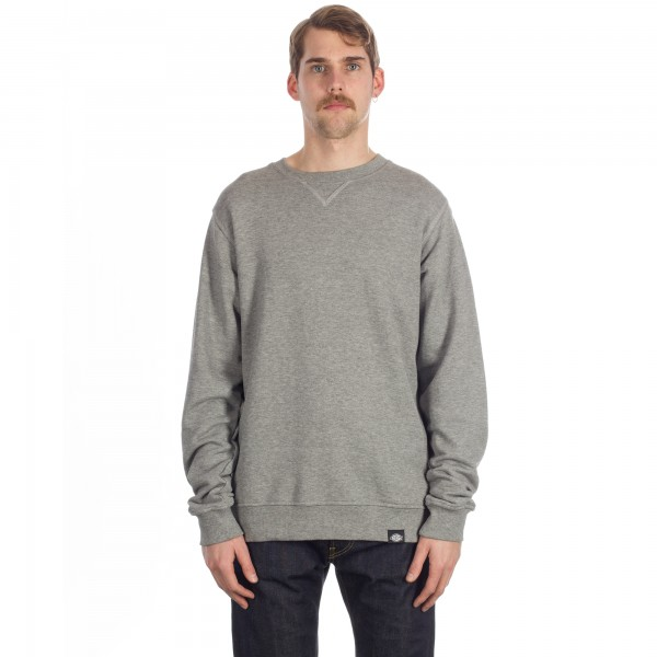 Dickies Washington Crew Neck Sweatshirt (Grey Melange)