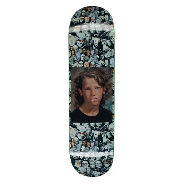 Fucking Awesome Jason Dill Heads Collage Hologram Skateboard Deck 8.5""